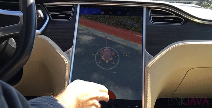 News AR Games in Tesla Cars